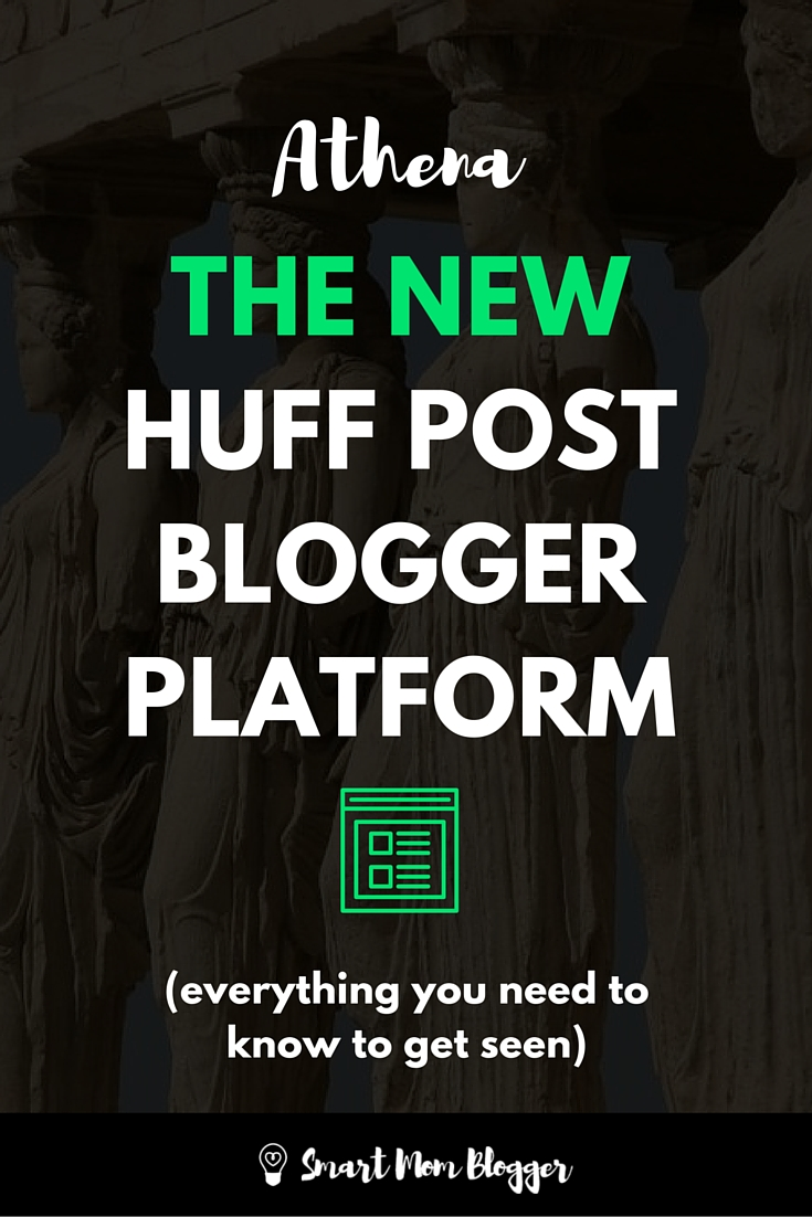 What's up with the new Huffington Post blogger platform Athena? Is it really harder to get people to see your article now? https://www.smartmomblogger.com/new-huffington-post-blogger-platform-athena/