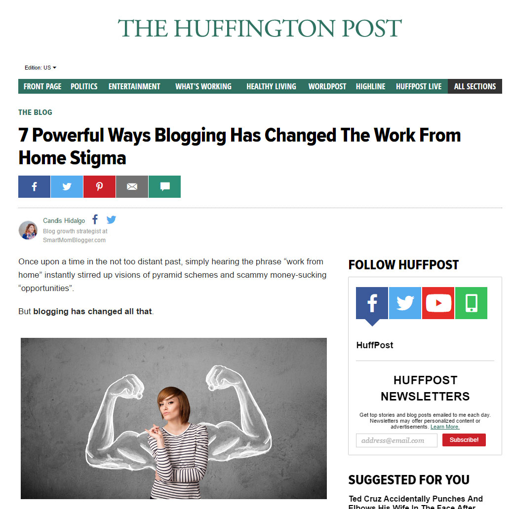 HuffPost Contributor Platform Closes with No Notice, Other Changes